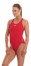 Speedo Womens Endurance Medalist Costume USA Red 40