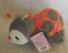 Enesco Precious Moments Tender Tails Red Grey Ladybug Nwt