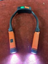 Snap-on Hands-Free Neck Light Rechargeable ECHDC038 Orange Torch ECHDC038