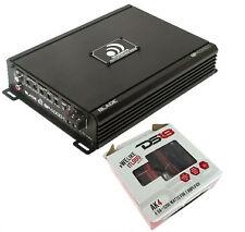 Massive Audio Amplifier BP4000.1 4000W Mono Audio class D with 4 gauge amp kit