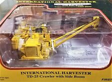 First Gear 80-0317 IH TD25 Sideboom Pipelayer w/Metal Tracks 1/87 Diecast MB NEW