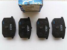Disk brake pad set, for LANCIA GAMMA ( rear ) Abex T 0269