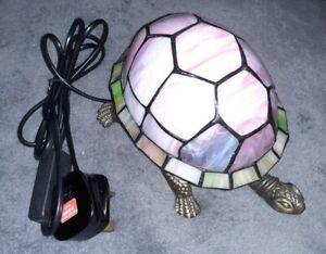 Tiffany Style Tortoise Lamp