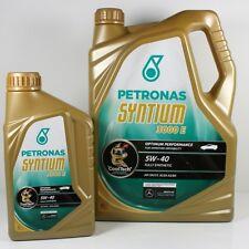 9L Motoröl Petronas Mercedes-Benz 5W-40, Blatt 229.5 + Ölfilter