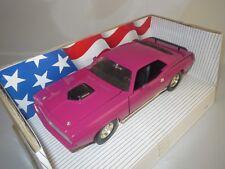 "ERTL/American Muscle Plymouth Hemi Cuda"" 1970"" (Rose) 1:18 dans neuf dans sa boîte!!!"