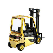 1:25 Scale Linde Battery Counterbalanced Forklift Model Diecast Truck Model Toy