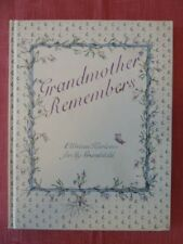 NEW Grandmother Remembers, A Written Heirloom for my Grandchild, Memory Book