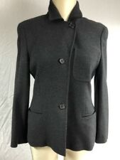 Max Mara veste 90% Laine anthracite t40 fr L  très bon état blazer wool jacket