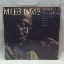 "Miles Davis ‎Kind Of Blue 1959 Mono Columbia ""6"" Eye CL 1355 Vinyl LP Record"