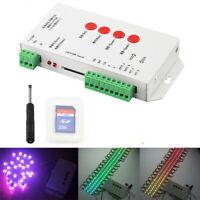 T-1000S 256M SD Card LED Pixel Controller RGB Stripe LPD6803 WS2801 WS2811 5-24V