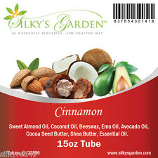 Shea Butter & Emu Oil Lip Balm - Cinnamon