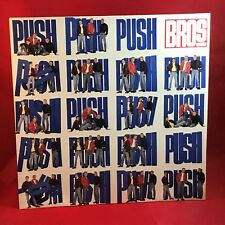 BROS Push 1988 UK vinyl LP EXCELLENT CONDITION When Will I Be Famous?  b