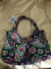 VERA BRADLEY GIRLS MINI TOTE Purse Bag Petal Paisley Rolled Handles NWT $48