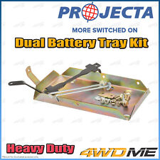 Toyota Prado 150 Series 4WD PROJECTA Dual Battery Tray Auxiliary Complete Kit