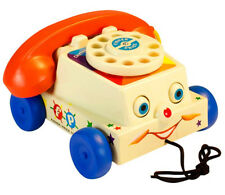 Fisher-Price Classic Chatter Phone Pull Toy Mattel