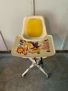 vintage mcdonalds high chair and tray