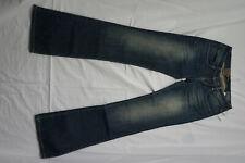 LTB Valerie Damen Stretch Bootcut Jeans Hose 27/34 W27 L34 blau Mid R. NEU AD14