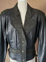 80's Vintage G-111 Blk Leather Jacket. Excellent condition!
