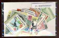 Montserrat 25 timbres différents