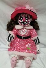 Zombie Baby Killer Clown Horror Doll Halloween Haunted House Prop