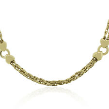 Gucci 18k Yellow Gold Heart Necklace