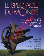 Le spectacle du monde n°421 - 04/1997 OTAN Franz Schubert Albanie Renault