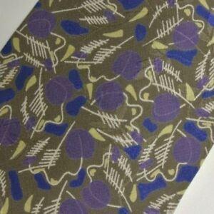 Purple Green Blue Abstract VENTURI Silk Tie