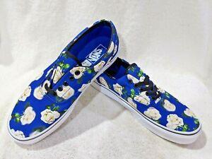 Vans Women's Era Romantic Floral Blue/Multicolor Skate Shoes-Sz 9.5/10.5/11.5 NB