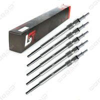 5 x GLOW PLUG FOR MERCEDES-BENZ C-CLASS W203 CL203 S203 C30CDI 5 VOLT