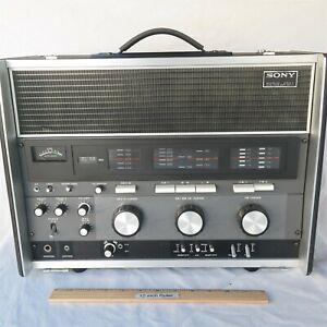 Sony CRF-230B World Zone 23 Band Radio Shortwave SW MW LW FM Very Nice