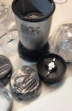 Nutribullet Magic Bullet Deluxe liquidificador, mixer & Processador de Alimentos, Prata