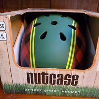 Nutcase Street Sport Cycling Helmet Size Medium Lumberjack Matte Color New