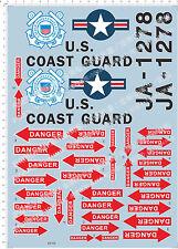 United States Coast Guard 1790 JA-1278 Model Kit Water Decal
