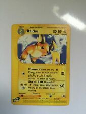 Pokemon Cards Expedition Base Set Non Holofoil Holographic  Raichu   (1) Card