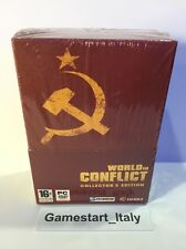WORLD IN CONFLICT COLLECTOR'S EDITION (PC) NUOVO SIGILLATO VERSIONE ITALIANA NEW
