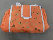 Aldi orange Insulated Expandable X-Large Reusable Shopping Grocery Tote Bag