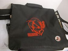 "Fullmetal Alchemist 14"" School Bag Black & Red Logo Shoulder Computer Bag"