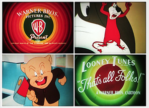 "16mm Film: TECHNICOLOR CARTOON ""Daffy Duck Hunt"" (1949) DAFFY DUCK & PORKY PIG"