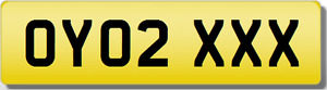 OY OYO  XXX SEXY  Private CHERISHED Registration Number Plate