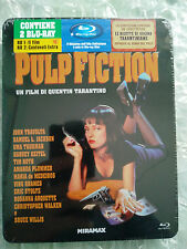 Pulp Fiction Italy Blu Ray Metalpak Italian -New