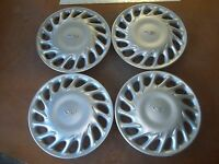 """97 98 99 00 01 02 Daewoo Leganza Hubcap Rim Wheel Cover Hub Cap 15"""" 66502 USED 4"""