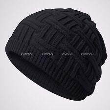 Knitting Knit Slouchy Baggy Beanie Oversize Winter Hat Ski Slouchy Cap Skull