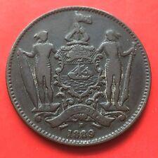 British North Borneo One Cent 1889H