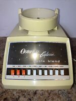 Vintage 1970's Oster Osterizer Galaxie Cycle Blend Blender Base Only, Tested