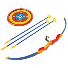 Hey Play Kids Bow Archery Play Set Suction Cup Arrows Little Archer Children Toy