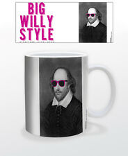 WILLIAM SHAKESPEARE BIG WILL 11 OZ COFFEE MUG POET PLAYWRIGHTER THEATER ACTOR!!!