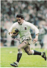 WILL CARLING - Signed 12x8 Photograph - SPORT - RUGBY UNION