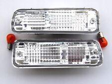 TOYOTA LAND CRUISER LT79 RJ77 LJ72 1993- BUMPER Indicator Lights Clear-Crystal