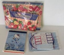 Hello Kitty Stationary Lot Notepads Envelopes Gift Bag Stickers Paper Sheets