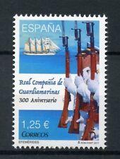 Spain 2017 MNH Real Compania de Guardiamarinas 300th 1v Set Ships Boats Stamps